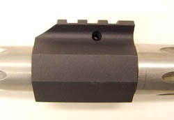 Single Rail Gas Block - Product Image