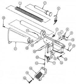 Lower Receiver Parts - Product Image