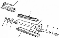 Barrel Parts Drawing # 2 - Product Image