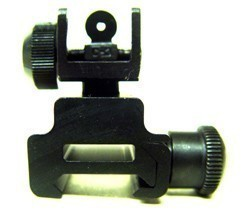 A2 Clamp on Rear Sight - Product Image